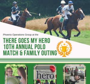 phoenix attended There Goes My Hero 10th Annual Polo Match and Family Outing